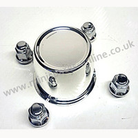 Steel wheel nut and centre cap kit- per wheel, trailers, classic Mini