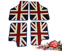 Deluxe Union Jack mat set Classic Mini