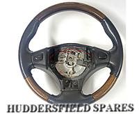 Classic Mini Late MPI Rare Wood Version Steering wheel, USED