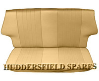 Rear seat covers to match biscuit classic seats for classic mini