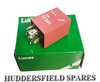 12V Lucas pink relay for dim dip control, YWC10050