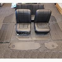 Classic Mini GT Seat Interior, Black