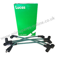 Genuine Lucas 8mm HT lead set for classic Mini- C-27H7779G