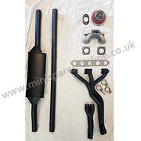 "Stage 1 tuning performance exhaust kit, Centre exit, HIF44/1.75""/1275cc for classic Mini"