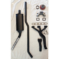 "Stage 1 tuning performance exhaust kit, Side exit system, HIF44/1.75""/1275cc for classic Mini Van/Estate/Traveller"