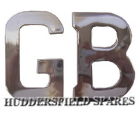 Stainless GB badge