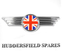 UJ bonnet badge