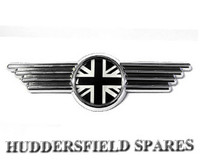 Black and silver UJ bonnet badge