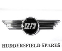 1275 bonnet badge