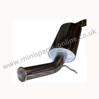 Stainless steel side exit exhaust