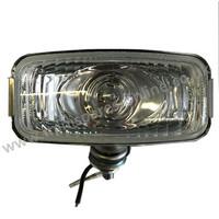 Rear reversing lamp stainless backed