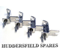 Stainless steel spot lamp brackets set of 4