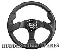 "13"" race type steering wheel"