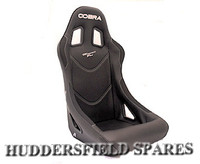 Cobra Monaco pro black piped black seat