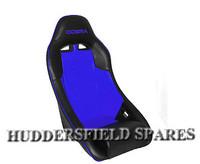 Cobra clubman blue and black signature seat