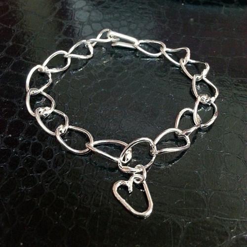 Fine Silver Link Bracelet