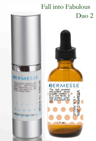 Fall into Fabulous Duo 2 - Retinol 1% Serum & Vitamin C 20% Serum