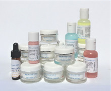 The Dermesse Sample Bundle is the perfect way to try our full line of Dermesse products at a fraction of the cost!   Our Sample Bundles come in a beautiful cosmetic bag* and include your choice of 6 Product Samples!