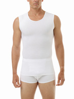 Cotton Spandex Muscle Shirt - Ultra Light Compression