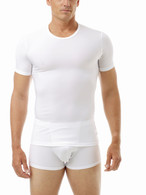 MEN BREAST HIGH COMPRESSION CREW NECK SHIRT & GIRDLE
