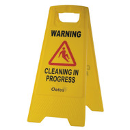 Warning Cleaning In Progress Sign | Safety Signs