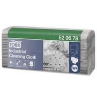 Tork Industrial Cleaning Cloth Grey Folded W4 System (520678)