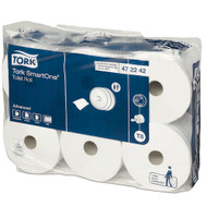 Tork SmartOne Toilet Roll 2Ply T8 System 12 Rolls (472242) Tork Products