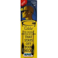 "Cablz 14"" Eyewear Retainer Original - Black"