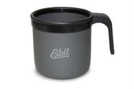 Esbit Hard Anodized Aluminum Mug with Plastic Handle
