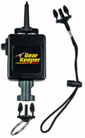 Gear Keeper RT3-5913 Deluxe Locking Scuba Console Retractor Snap Clip Mount with Q/C-II Split Ring and Lanyard Accessory