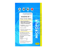 Micropur Water Purifier Tablets - 30 Count