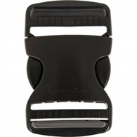 "Buckle,  2"" Dual Adjust Side Release"
