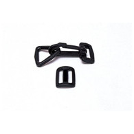 Liberty Mountain Delrin 1inch Snaphook Assembly Slider - 2 Pack