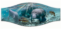SeaScapes Manatee Mask Strap Cover