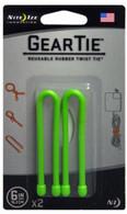 "Nite Ize 6"" Gear Tie 2-Pack"