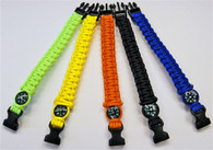 Para 550 Multi-Purpose Paracord Bracelet with Compass