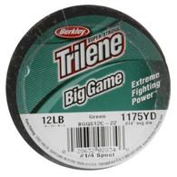 Berkley Trilene Big Game 12lb. 1175yards Monofilament Fishing Line - Green