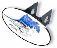 Trailer Hitch Cover -  Sailfish - WP207