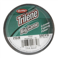 Berkley Trilene Big Game 25lb. 595yards Monofilament Fishing Line - Clear