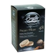Bradley Pecan Flavor Bisquettes 48