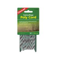 Coghlan's Braided Poly Cord 1/4 inch x 50 feet - Camo
