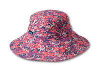 Kavu Mary Lou Sun Hat - Small - Berry Punch
