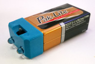 PakLite SUPER White LED Flashlight with Colored Caps
