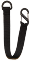 "Sawyer Black Hanging Strap with ""S"" Clip"