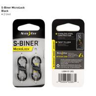 Nite Ize MicroLock S-Biner 3 lb. 2pk.