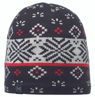 Buff Knitted & Polar Hat - Jorden Black