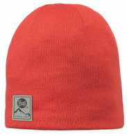 Buff Knitted & Polar Hat - Orange