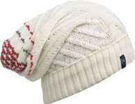 Buff Knitted Neckwarmer Hat - Zile Cream