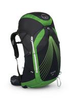 Osprey Packs Exos 58 Backpack, Basalt Black, Small