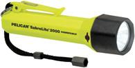 Pelican 2000 Sabrelite Submersible Flashlight - Yellow